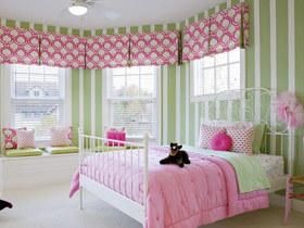 打造休闲卧室 14个弧形飘窗效果图