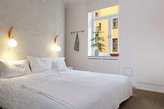 宁静简约白色卧室设计效果图