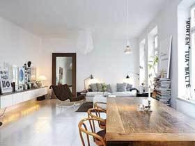 硬朗简洁北欧一居室 单身者的舒适空间