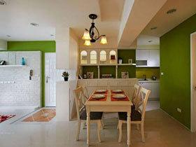 65平清新简欧田园两居室 让你的家像个小花园