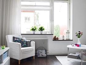 打造明亮客厅 14款简约飘窗效果图