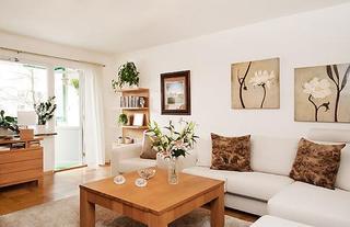 舒适原木日式公寓 花钱少效果却很棒