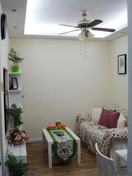 田园风格二居室温馨5-10万70平米装修图片