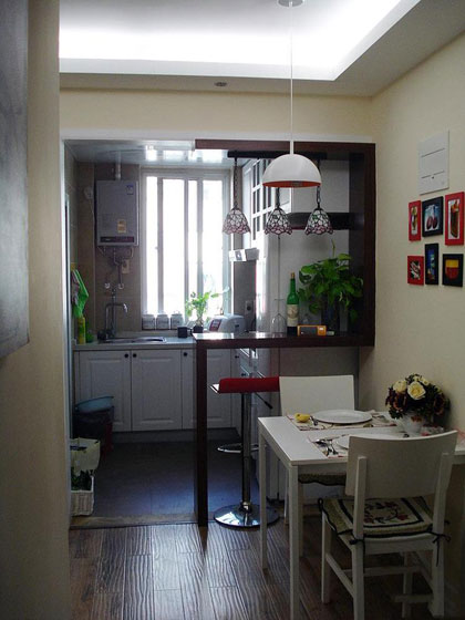 田园风格二居室温馨5-10万70平米装修效果图