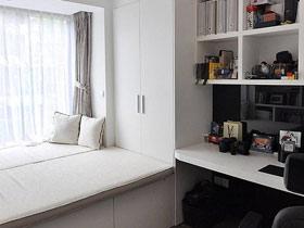 唯美白紗窗 14款飄窗窗簾設計圖