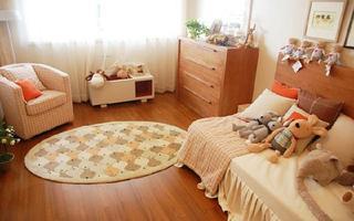 日式原木客厅设计效果图