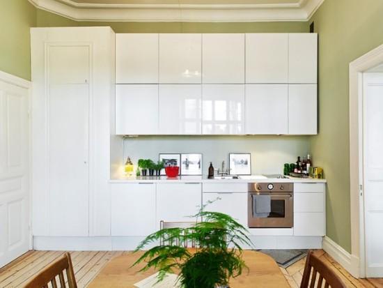 白色橱柜设计图片