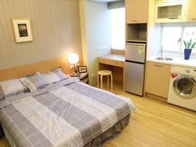 温馨日式宜家风 单身公寓效果图