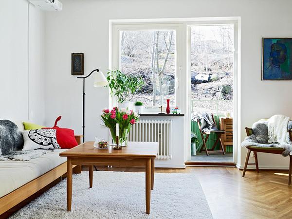 欧式风格小户型温馨5-10万60平米效果图