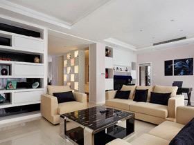 15万装100平简约风格三居室 复式设计案例