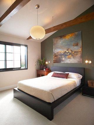 卧室装饰画装修效果图大全2014图片