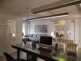 欧式风格二居室简洁装修效果图