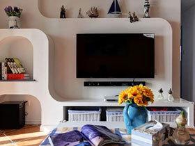 清爽地中海三居装修 好房子用颜值来讲话