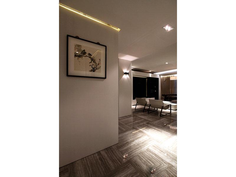 15 20万130平米三居室装修效果图,现代风格130平三房装修案例效果高清图片