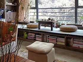 把书房搬到阳台 12张图片打造独立阅读空间