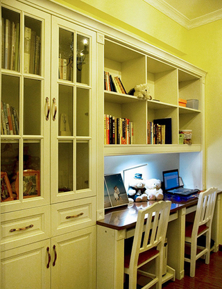 简约双人书房设计
