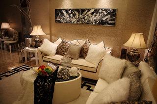 欧式布艺沙发设计图片