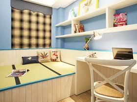 书房兼客卧 18款地中海榻榻米设计