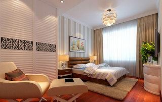 中式风格卧室设计效果图