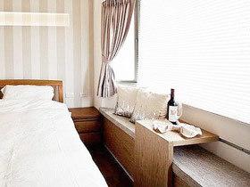美好睡眠环境 13款卧室大飘窗效果图