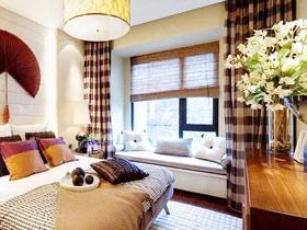經典中式設計 13款臥室飄窗效果圖