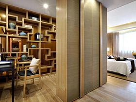學習休息兩不誤 12款臥室書房隔斷設計