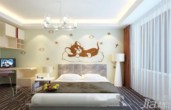硅藻泥造型墙 为宝宝打造童梦空间