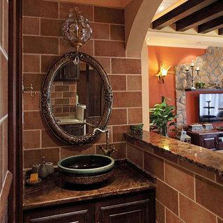 美式洗手台设计效果图