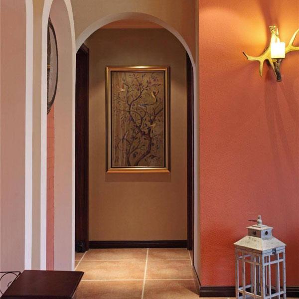 美式风格三居室120平米装修效果图