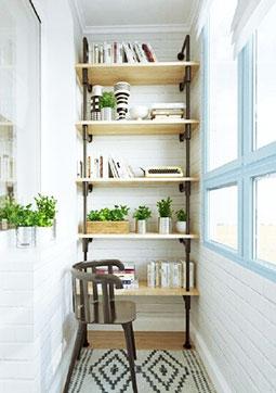 把书房搬到阳台