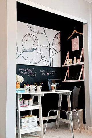 创意壁橱小书房设计