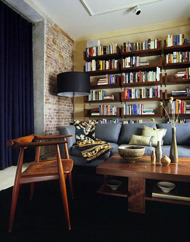 书墙客厅背景墙