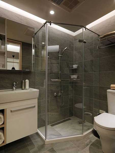 清新淋浴房设计图片
