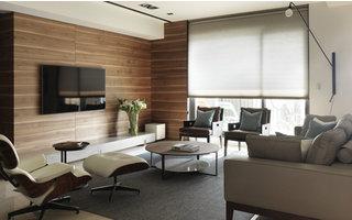 115平三房现代风格汤城豪园9.96万艺