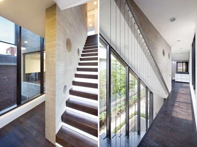 简约风格实木楼梯效果图