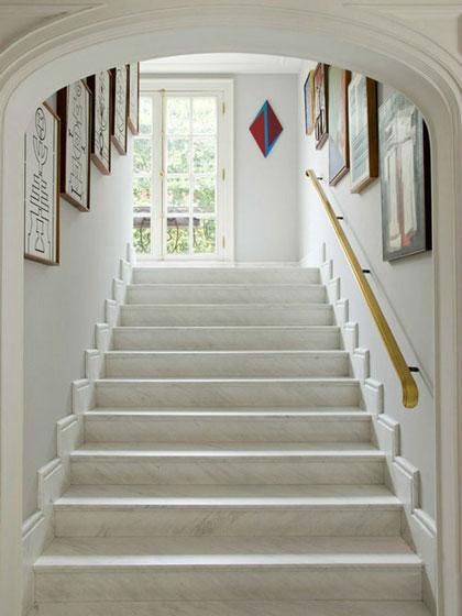 别墅楼梯设计图现代简约风格卧室效果图 0 大理石楼梯效果图 复式楼梯图片