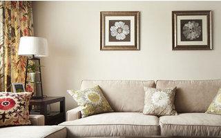 90平两房简美风格海富花园自然气息