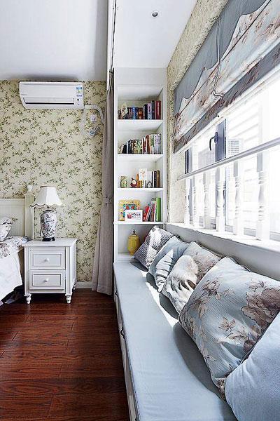 混搭风格三居室小清新130平米装修效果图