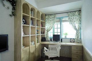 混搭风格三居室梦幻120平米设计图纸