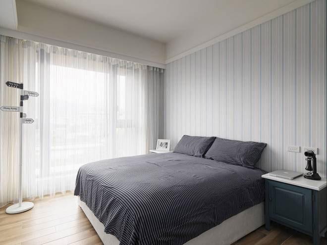 混搭风格三居室温馨110平米装修效果图