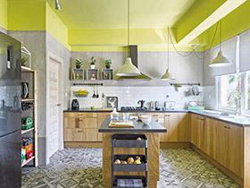 12款开放式厨房 打造美食圣地