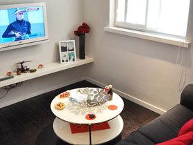 黑白极简主义小公寓 单身贵族的精致空间