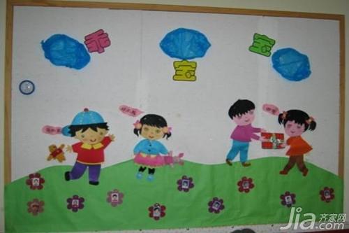 幼儿园墙面布置技巧