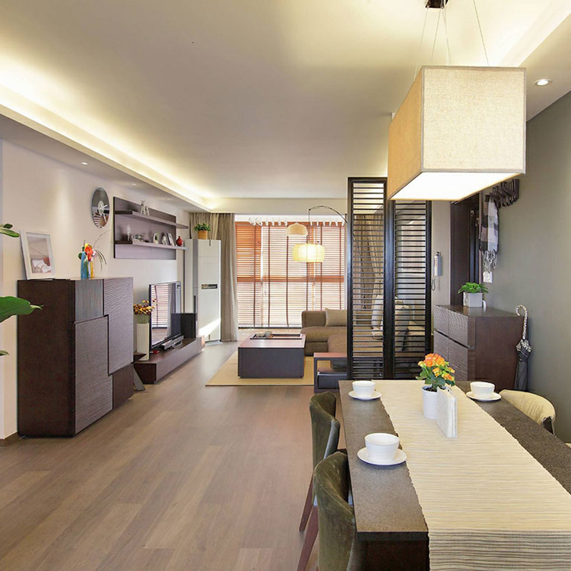 中式风格二居室100平米装修效果图