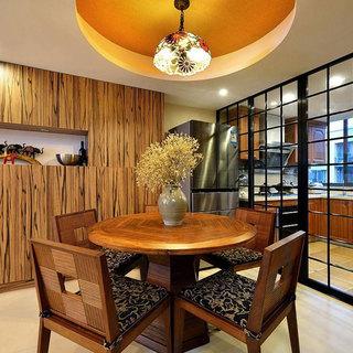 东南亚餐厅设计效果图