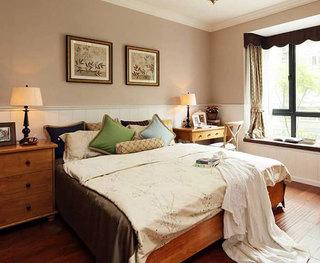 卧室背景装饰画装扮温馨卧室