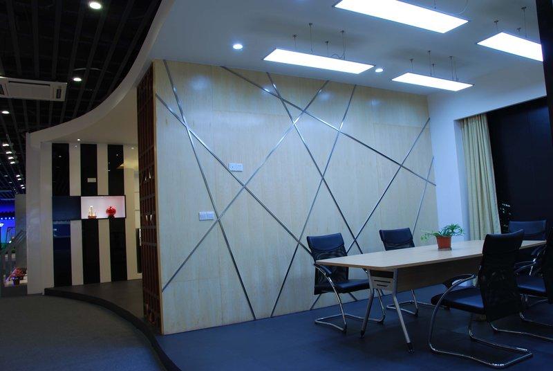 20万以上140平米以上简约装修效果图,雪莱特灯具展厅装修案例效果图 齐家装修网