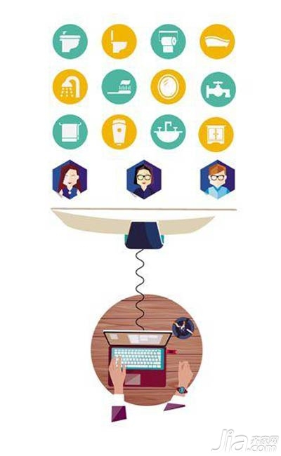 互联网颠覆传统装修 潜移默化改变消费者装修习惯