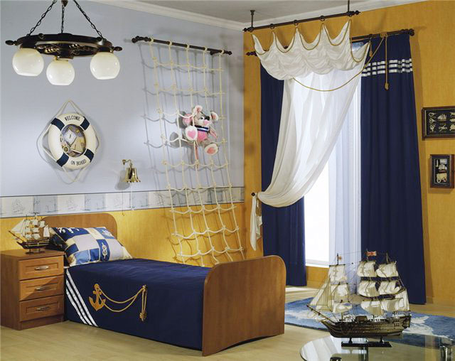 海洋风儿童房设计