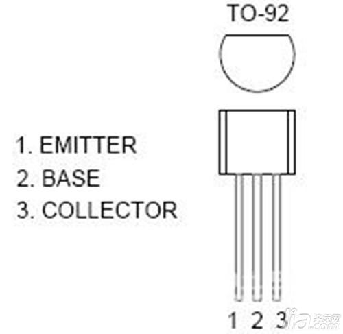 三极管8050是非常常见的npn型晶体三极管,在各种放大电路中经常看到它